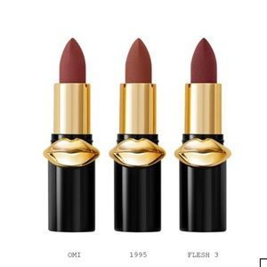 New-Pat Mcgrath Labs Mini Mattetrance Lipsticks